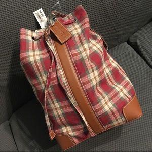 Longaberger mini backpack/purse